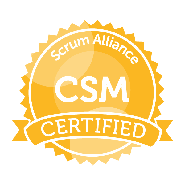 Scrum Alliance Certified Scrum Master