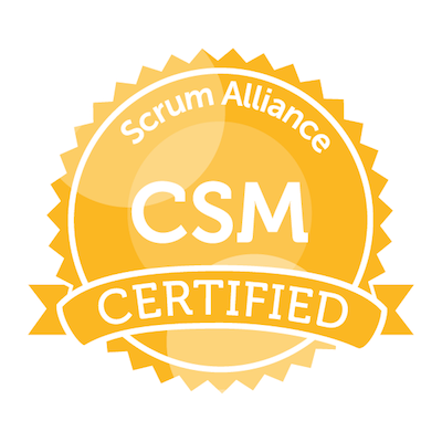Scrum Alliance Certified Scrum Master (CSM)