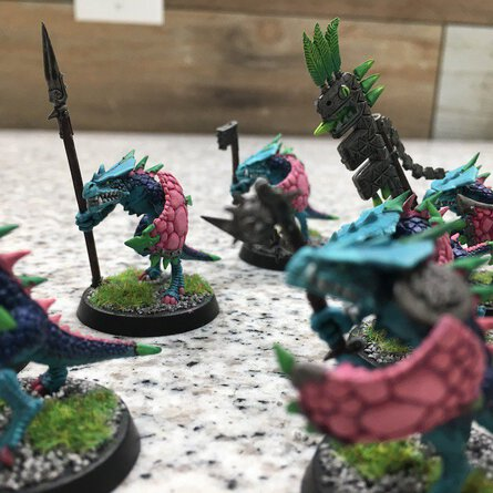 Seraphon Warriors